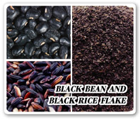 BLACK BEAN AND LACK RICE FLAKE