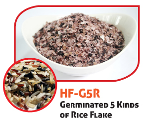 Germinated 5 Kinds of Rice Flake