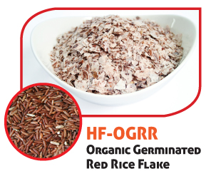 Organic Germinated Red Rice Flake