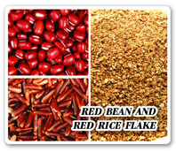 RED BEAN AND RED RICE FLAKE